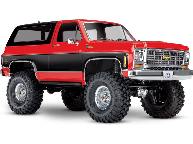Traxxas TRX-4 Chevrolet K5 Blazer 1:10 RTR červený, TRA82076-4-RED