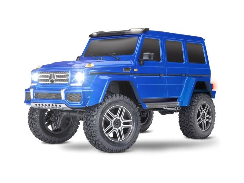 Traxxas TRX-4 Mercedes G500 1:10 TQi RTR modrý, TRA82096-4-BLU