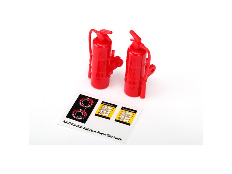 Traxxas hasicí přístroj červený (2), TRA8422 Traxxas 8422