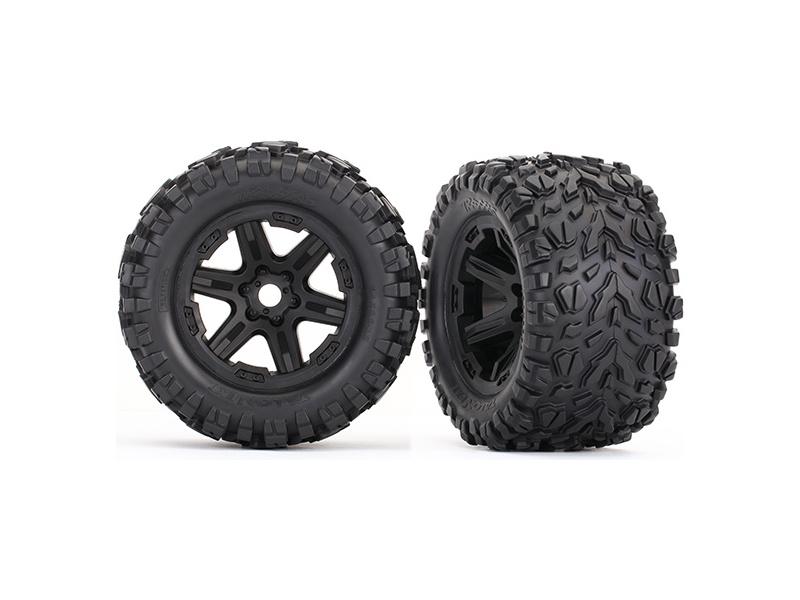 "Traxxas kolo 3.8"" černé, pneu Talon EXT a vložkou (2), Traxxas 8672 , TRA8672"