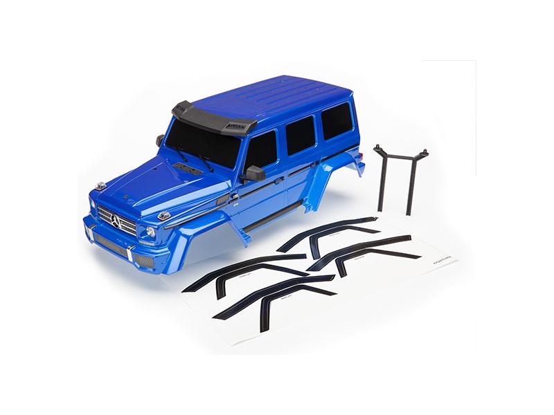 Traxxas karosérie Mercedes-Benz G 500 kompletní modrá, Traxxas 8811X, TRA8811X
