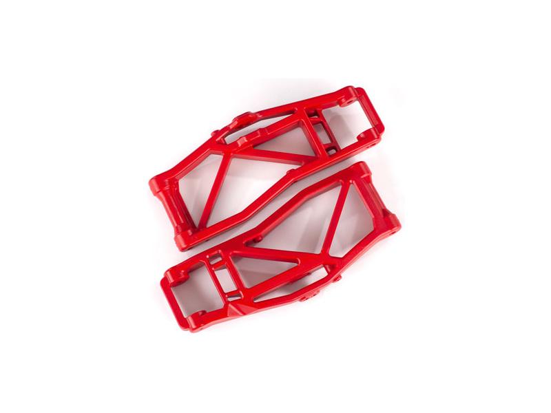 Traxxas rameno závěsu kol dolní červené (2) (pro WideMaxx), Traxxas 8999R, TRA8999R