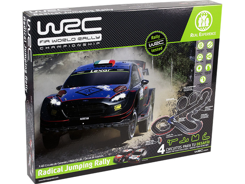 WRC Radical Jumping Rally 1:43