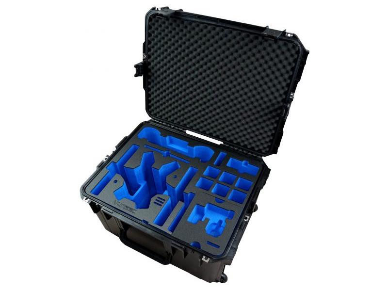 Yuneec H520/Typhoon H Plus: Kufr Trolley profi ABS s vložkou