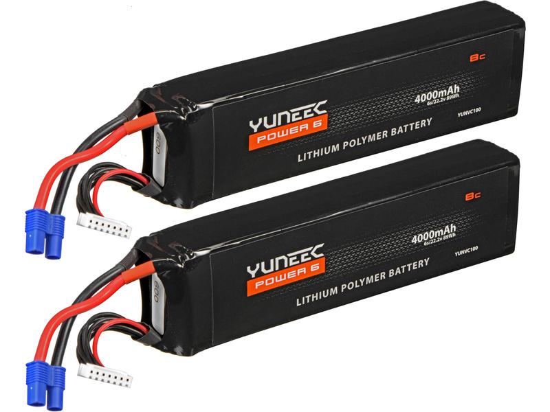 Yuneec H920: LiPol baterie 22.2V 4000mAh (2) YUNH920034