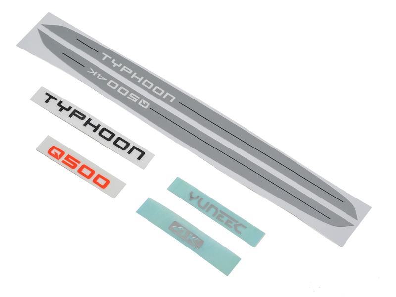 Yuneec Q500 4K: Samolepky YUNQ4K123