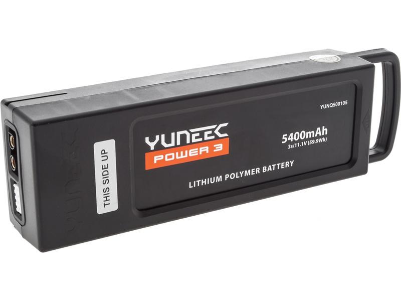 Yuneec Q500: LiPol baterie 11.1V 5400mAh 3S černá YUNQ4K131