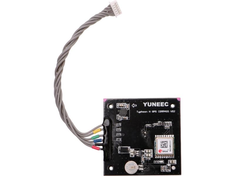 Yuneec TYPHOON H: Modul GPS, výškoměr, kompas YUNTYH116