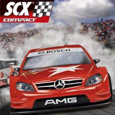 Autodráha SCX Compact 1:43