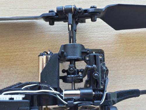 RC vrtulník Blade 70S - cyklika