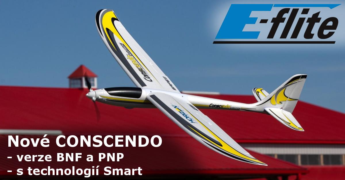 Představení RC modelu letadla E-flite Concendo Evolution