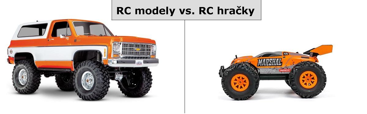 RC modely vs. RC hračky