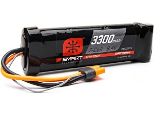 Spektrum Smart NiMH 8.4V 3300mAh IC3