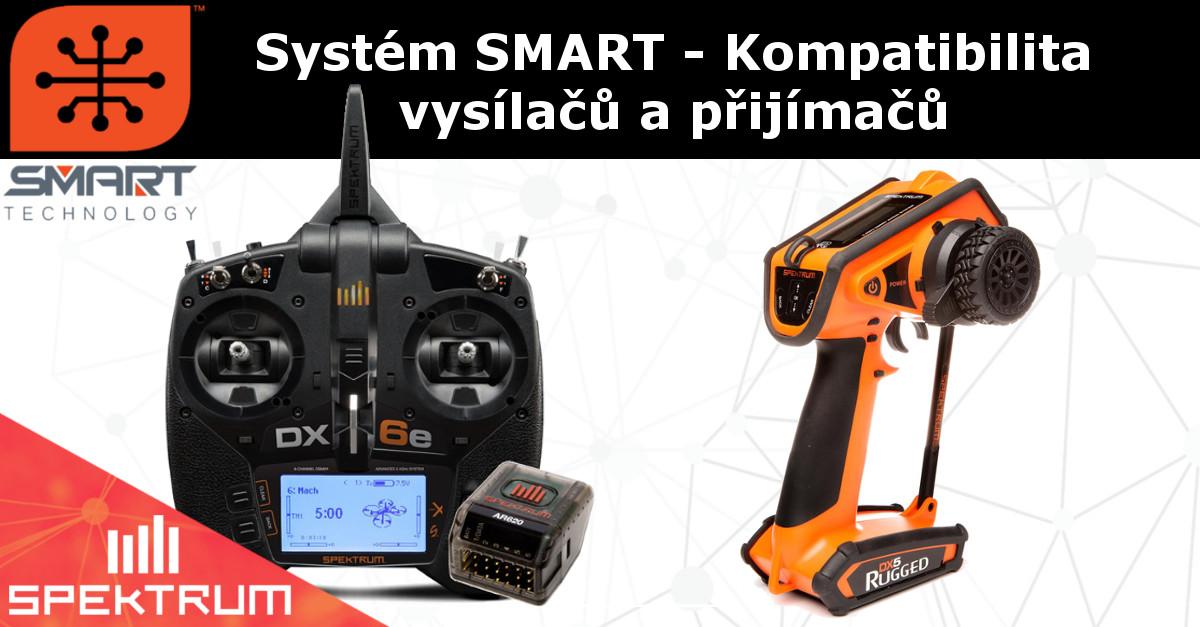 Spektrum Smart - kompatibilita vysílačů a přijímačů