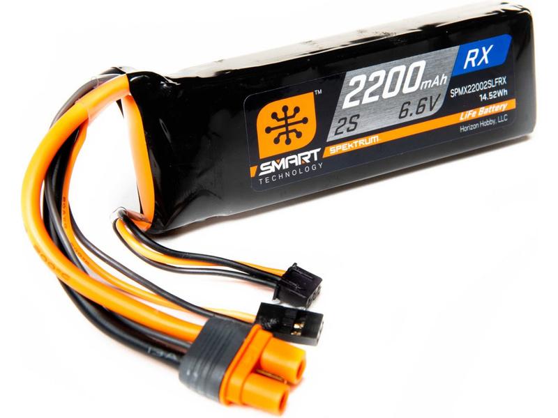 LiFe akumulátor Spektrum Smart 6,6 V 2200 mAh