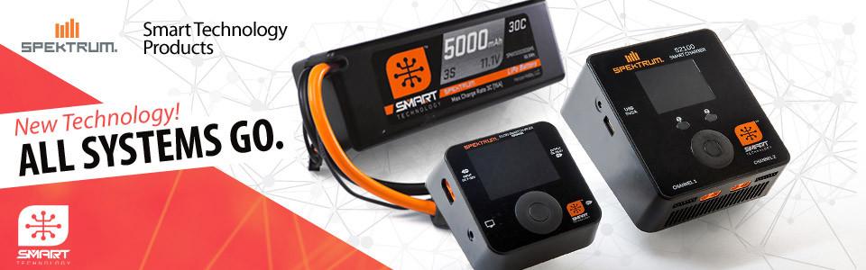 Smart akumulátory, nabíječe a konektory