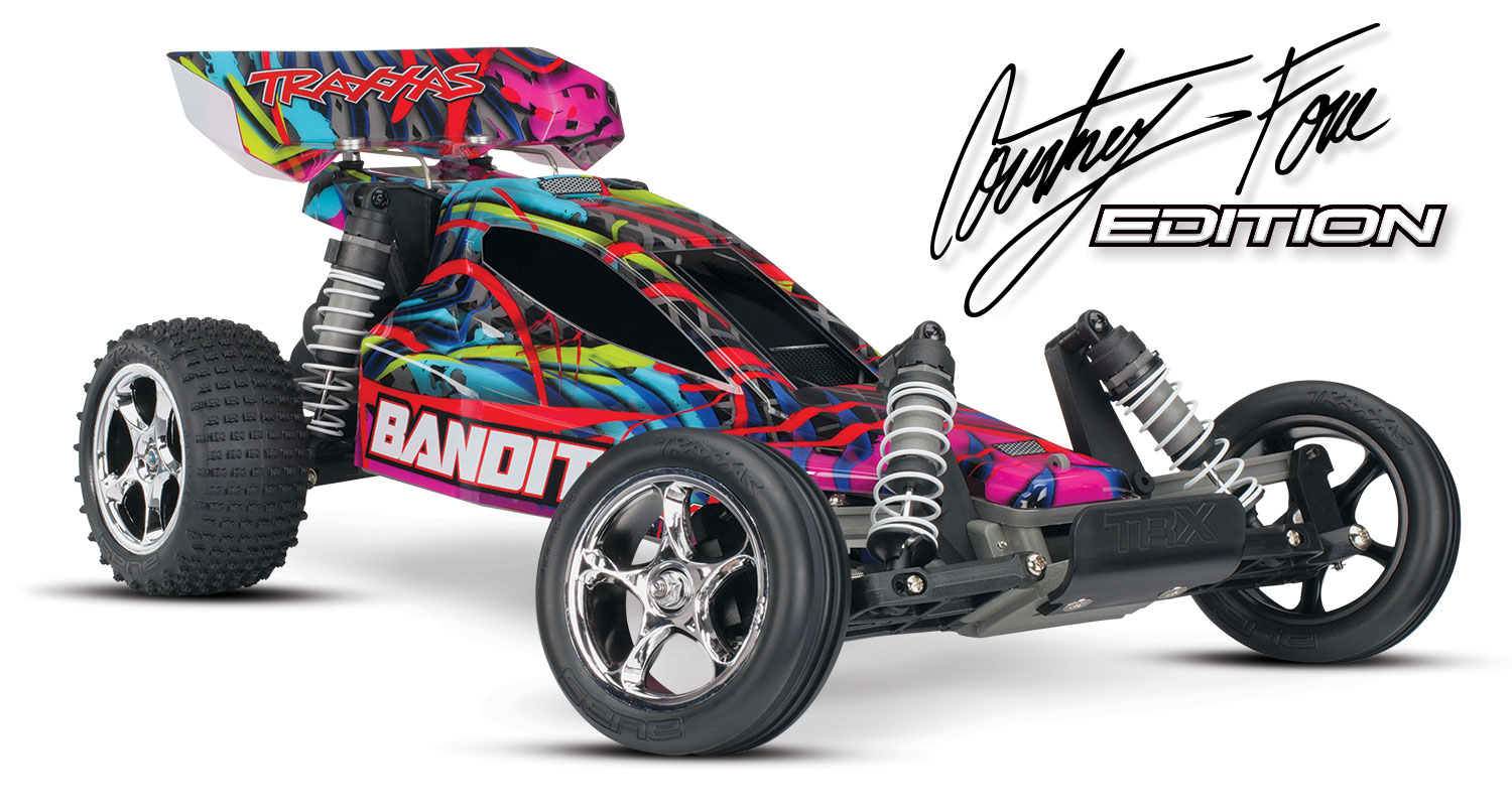 Traxxas Bandit - Courtney Force Edition