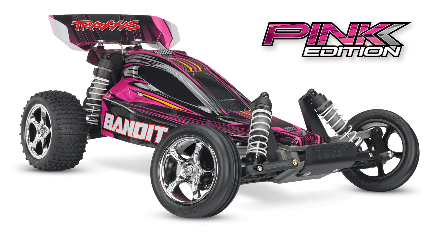Traxxas Bandit - Pink Edition