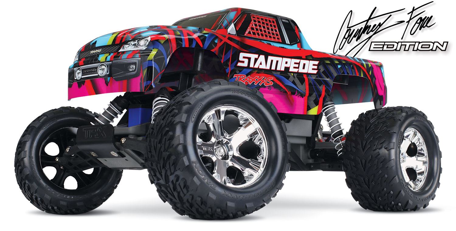 Traxxas Stampede - Courtney Force Edition