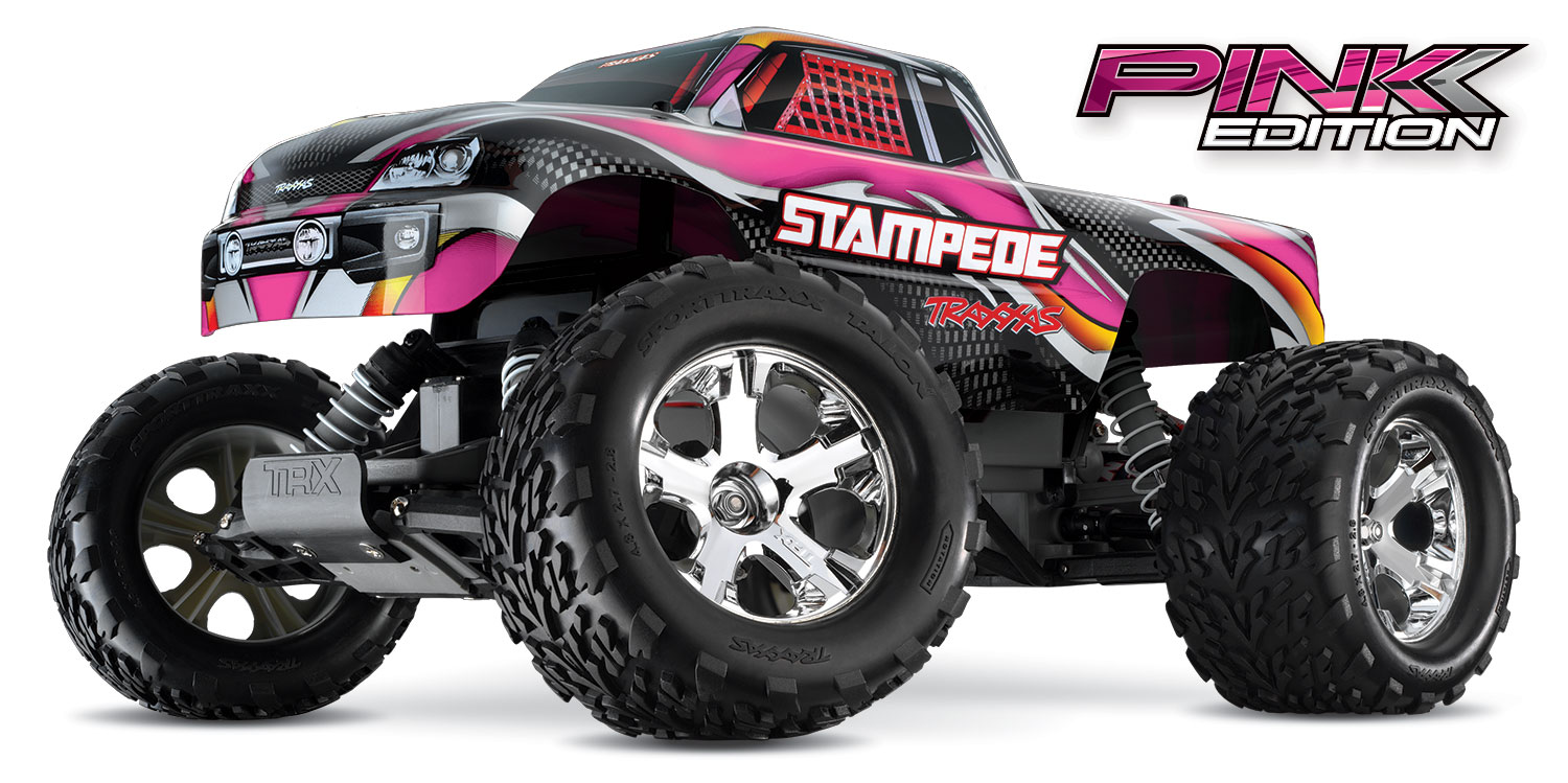 Traxxas Stampede - Pink Edition