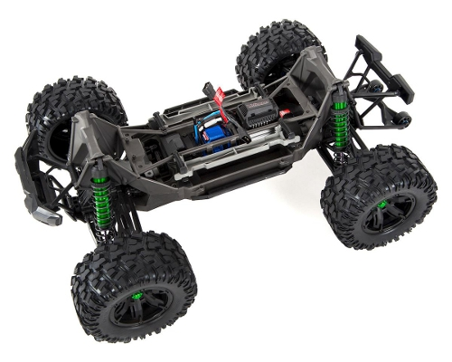 Traxxas X-Maxx 8S Limited Green Edition - šasi