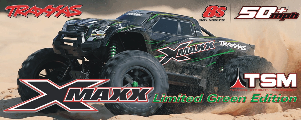 Traxxas X-Maxx 8S Limited Green Edition