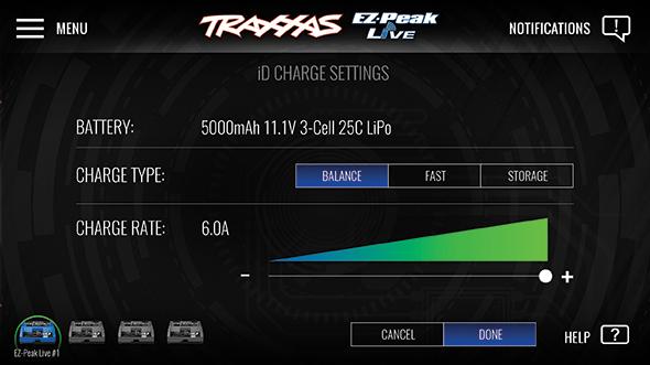 Traxxas EZ-Peak App