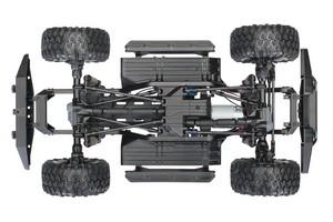 TRX-4 - šasi ze spoda