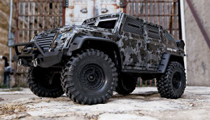 TRX-4 Tactical unit - Ukázka jízdy