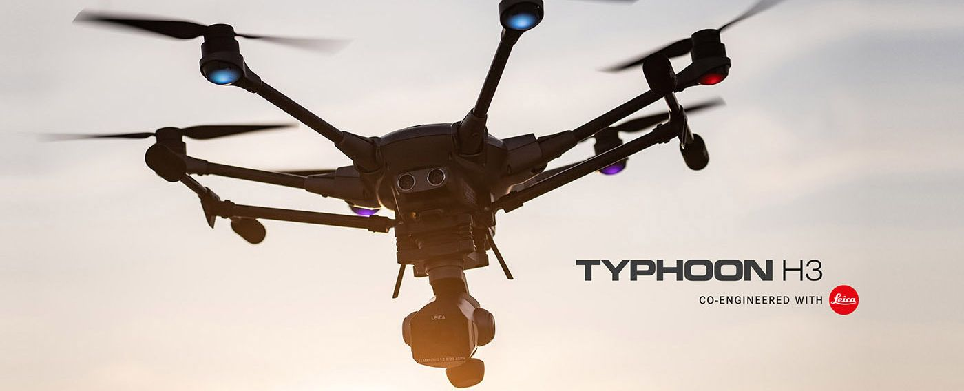 Yuneec Typhoon H3, Leica ION L1 Pro