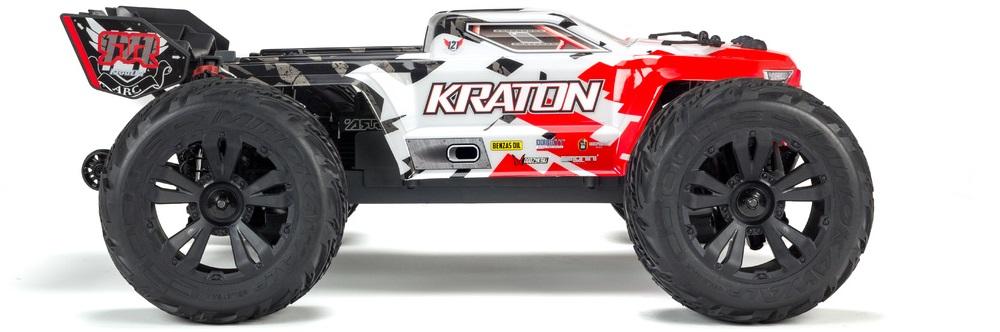 Arrma Kraton 4S BLX 1:10 4WD RTR černá