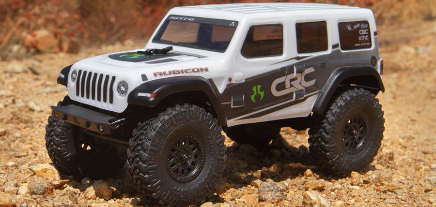 SCX24 Jeep Wrangler JLU
