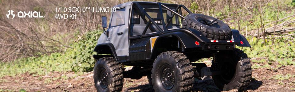 SCX10 II™ UMG10