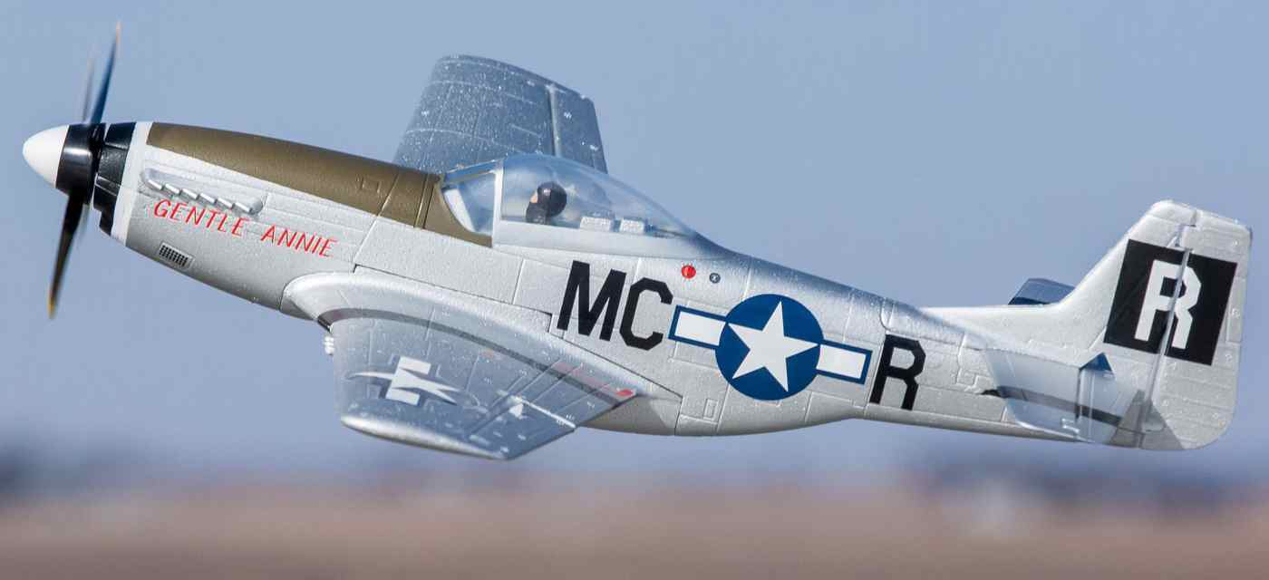 UMX P-51 Mustang BL BNF Basic