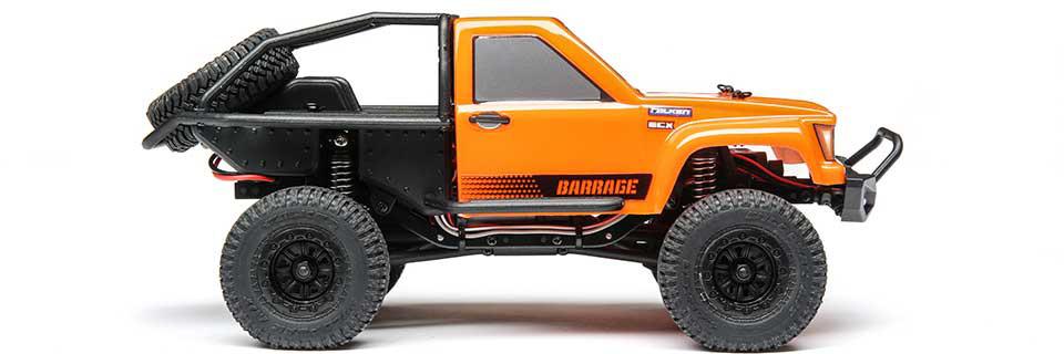 Barrage 1:24 4WD Scaler Rock Crawler