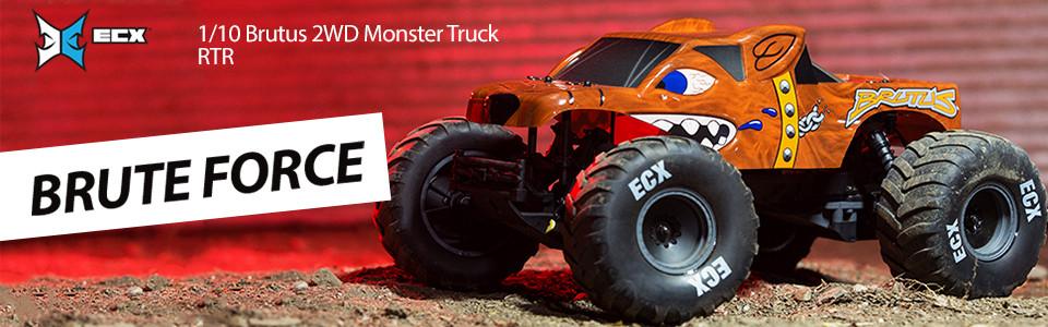 RC model auta ECX Brutus 1:10