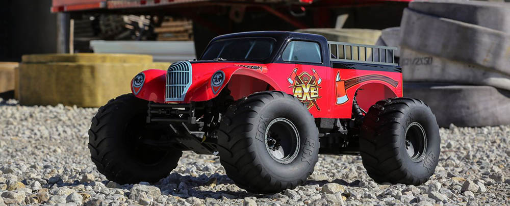 Axe Monster Truck