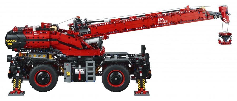 LEGO - terénní jeřáb