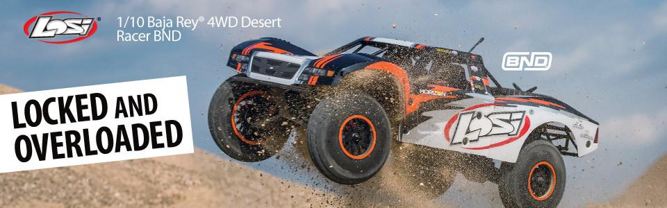 Baja Rey 4WD 1:10 Desert Truck