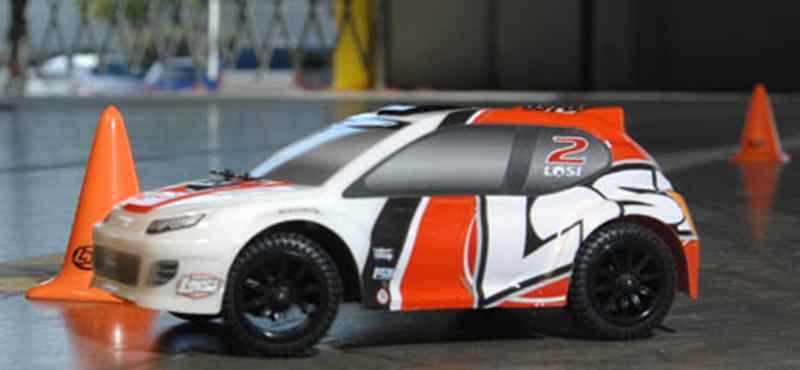 Micro-Rally Car