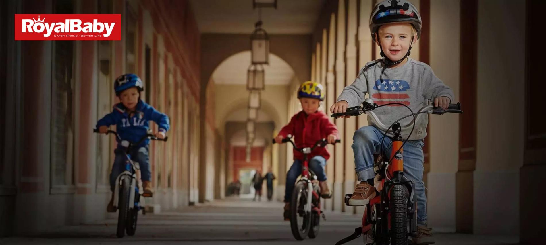RoyalBaby - dětská kola
