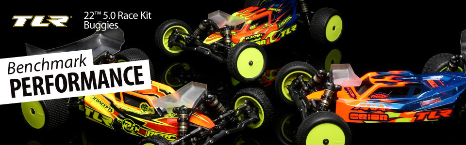 TLR 22 5.0 1:10 2WD Dirt Clay Buggy Race Kit