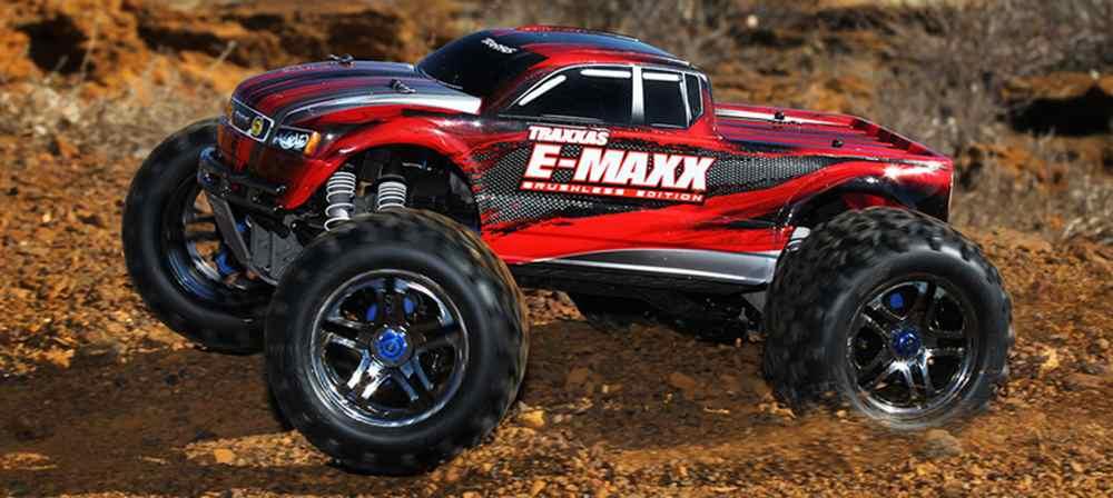 E-Maxx 1:8 Brushless TQi TSM
