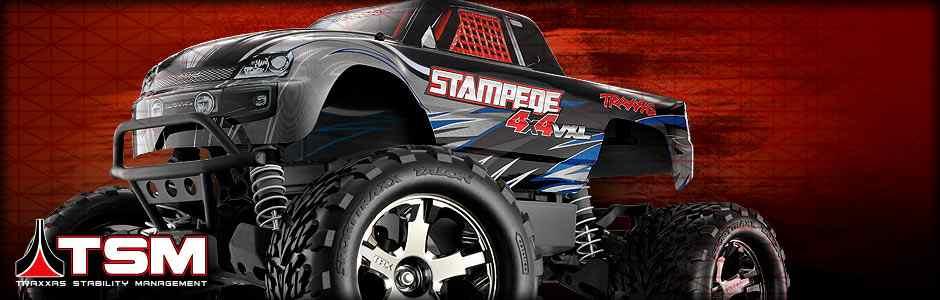 Stampede 1:10 VXL 4WD TQi TSM