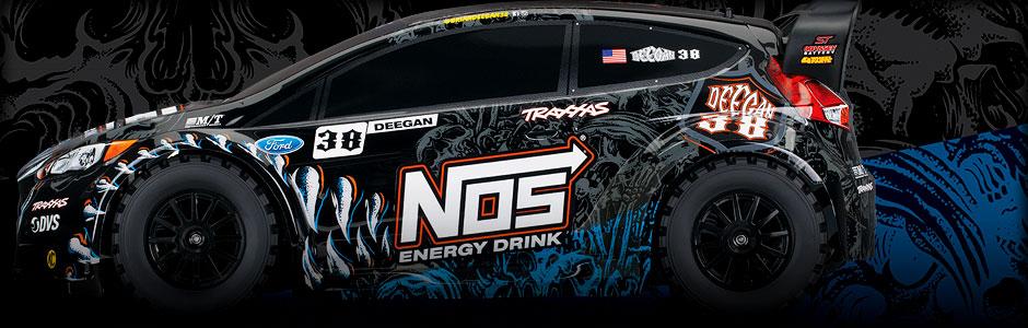 Ford Fiesta ST Rally 1:10 4WD TQ RTR