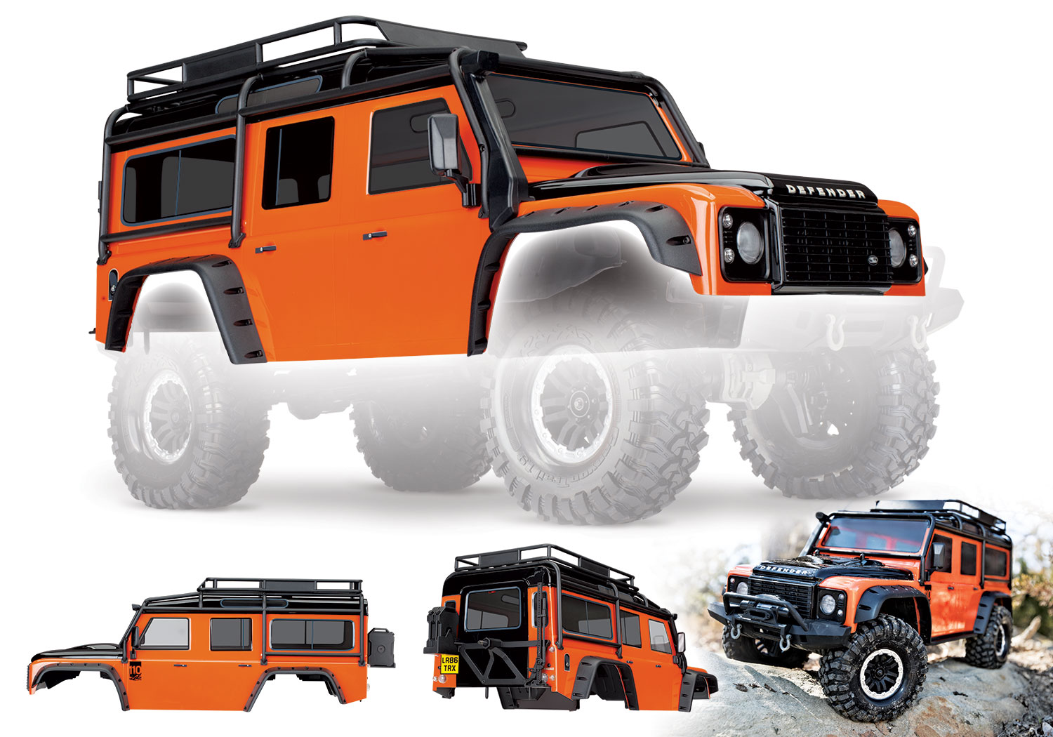 Karoserie Land Rover Defender Adventure