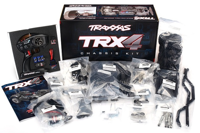 Traxxas TRX-4 1:10 TQi Kit