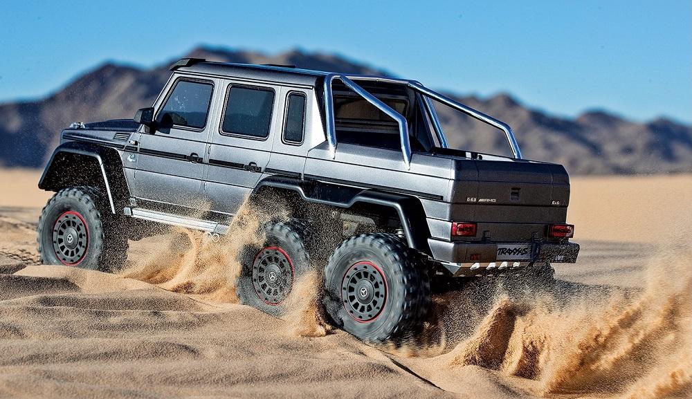 Traxxas TRX-6 Mercedes G 63 6x6 1:10 TQi RTR