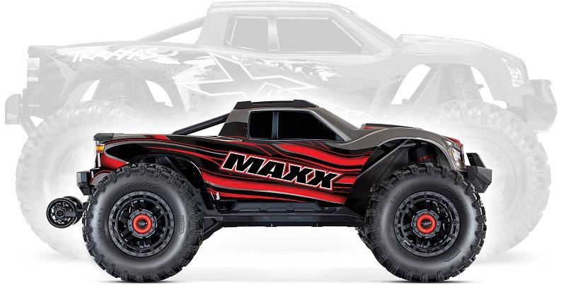Srovnání X-Maxx vs. Maxx