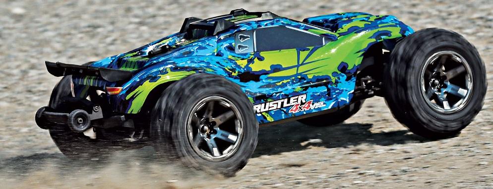 Traxxas Rustler 1:10 VXL 4WD TQi RTR